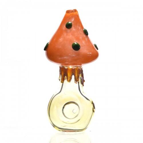 Lžička Mushroom - žlutá