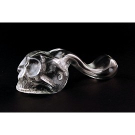 Pyrex Skull Clear Big