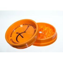 Oranžová plastová drtička s magnetem